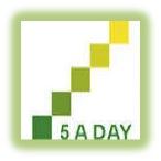 5 a day logo