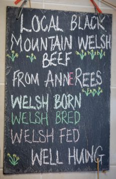 our food blackboard - web